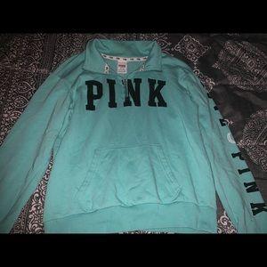 PINK Half Zip Hoodie